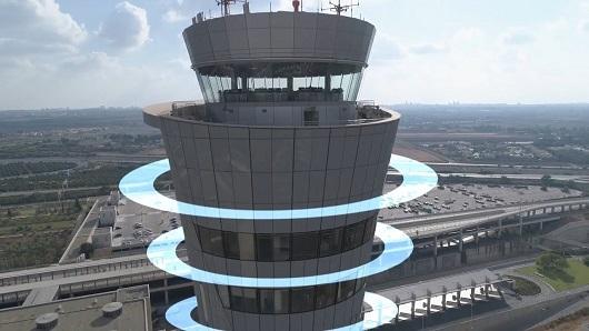סרט תדמית מגדל הפיקוח החדש בנמל התעופה בן גוריון