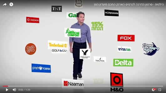 סרט הדרכה לתהליך קנייה מאובטחת וקלה באפליקציה